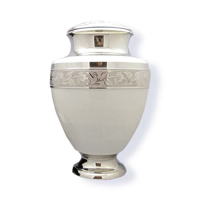 Mother of Pearl Urn For Cremation