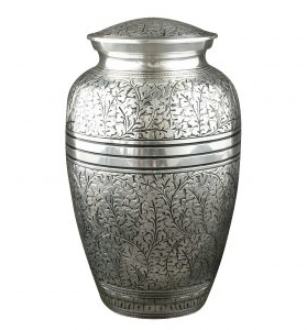 Pewter Antique Urn