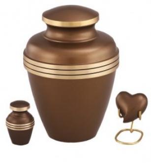 Ashen Bronze Urn
